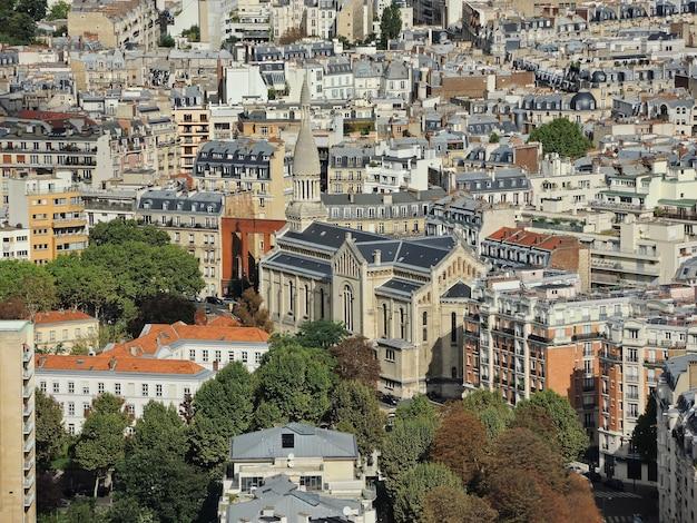 건물 지붕 교회 파리 프랑스 파노라마보기