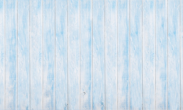 Panoramic white and blue wood board texture and backgrounds
