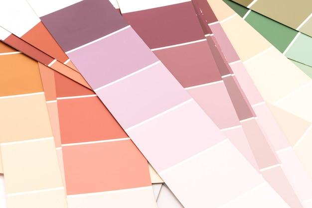 Каталог образцов цветов pantone