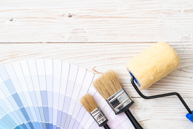 Образец каталога цветов pantone или книга образцов цветов