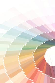 Образец цветов каталога фон pantone