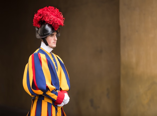 制服を着た教皇スイスガード