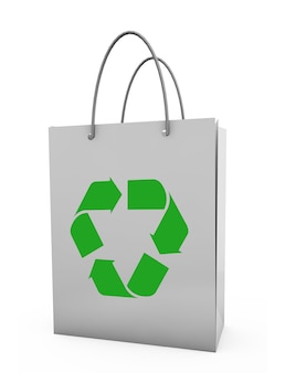Paper bag package conceptual image help and care