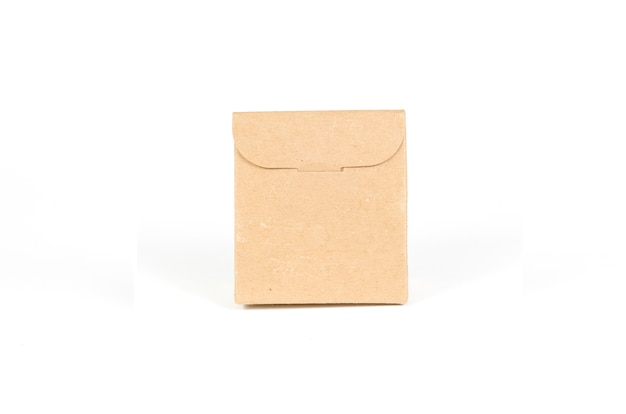 Paper bags isolated with clipping path