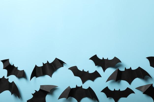Paper bats top view
