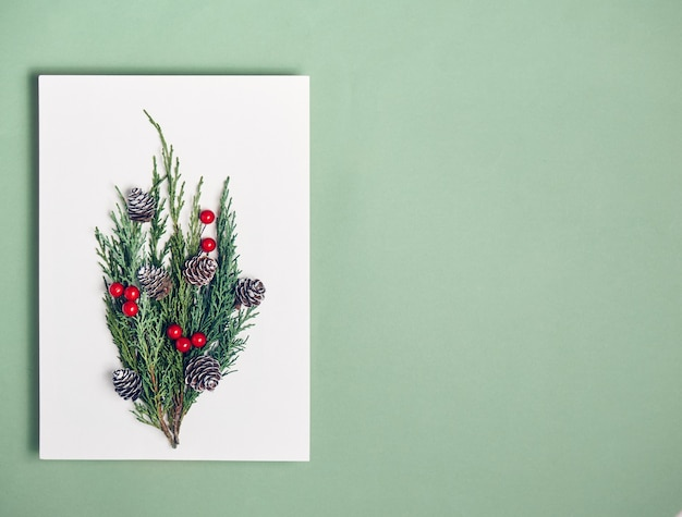 Paper blank mock up, decorations