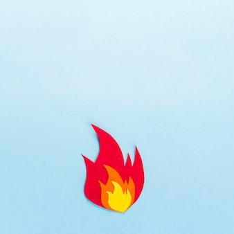 Paper bonfire