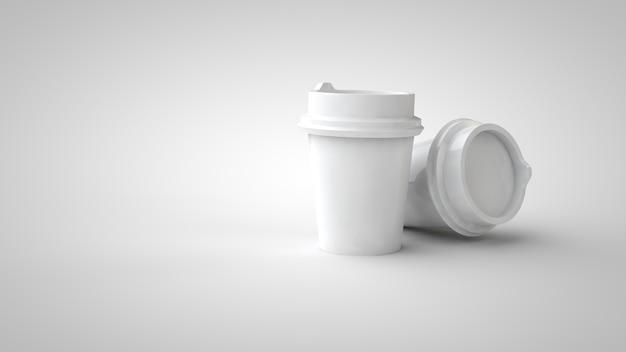 Бумажный контейнер для кофейной чашки