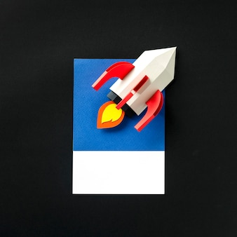 Origami Rocket Ship Tutorial - Flying Spaceship - Paper Kawaii ... | 338x338