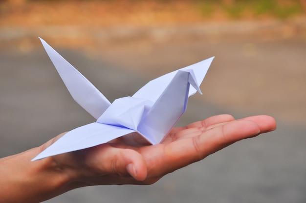 Paper crane's