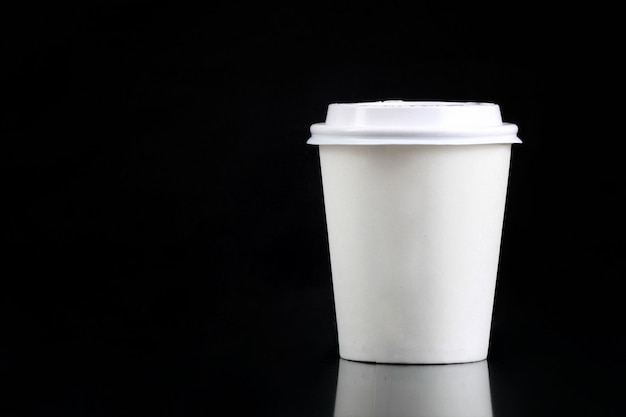 Paper cup packaging for coffee and tea drinks