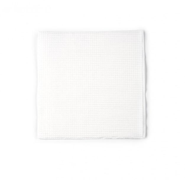 Бумажная салфетка на белом