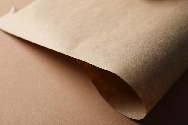クラフト、クローズアップ、テキスト用のスペースに関する紙