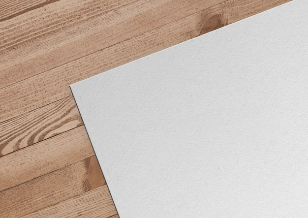 Бумага на деревянных фоне