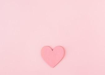 Paper ornament symbol of heart