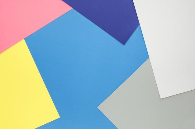 紙のパステルカラーの背景主要なビジュアルレイアウトデザイン用