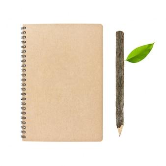 Paper plain reminder white eco concept