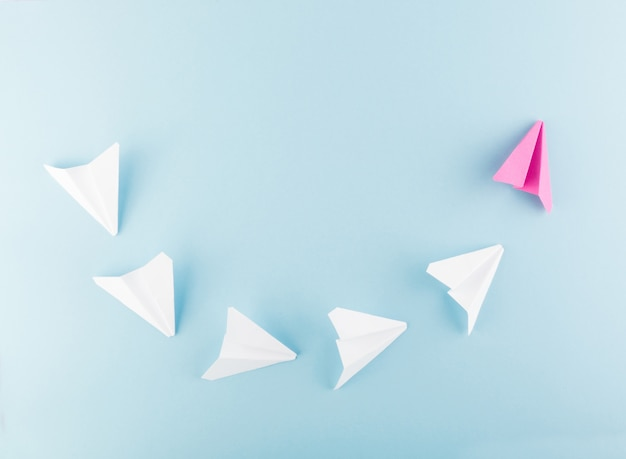 Paper plane or paper airplane