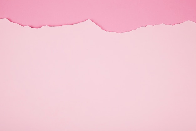 Paper surface of pink color