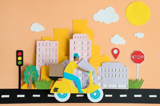 紙の都市交通の品揃え