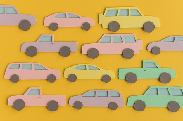 紙の都市交通構成