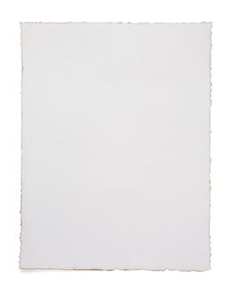 종이 빈티지 양피지 흰색 절연