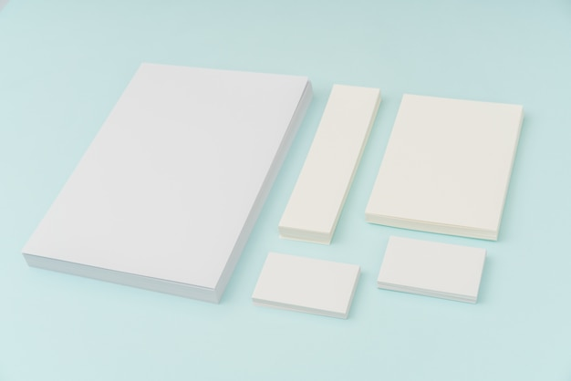 Paperback single template reading letter
