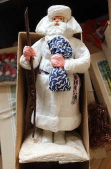Елочная игрушка из папье-маше 50-х годов