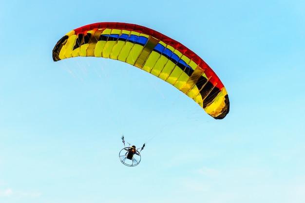 Para glider for radio remote control.