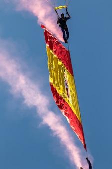 Parachutist of the papea