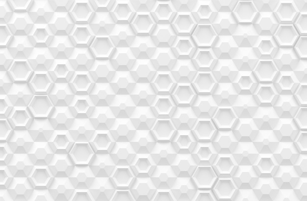 Parametric digital texture based on hexagonal grid with different volume and internal pattern