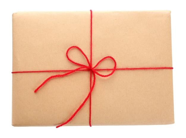 소포 선물 상자 배경