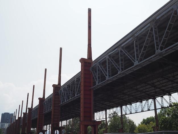 토리노의 파르코 도라 산업 유적