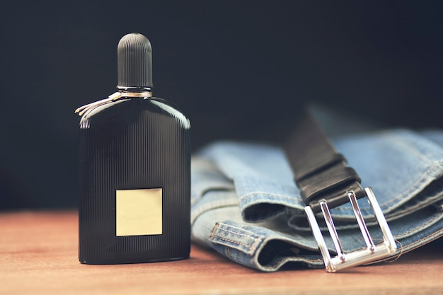 Parfum and jeans