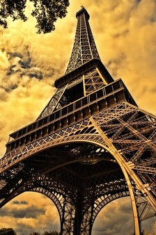 Paris tower french eiffel