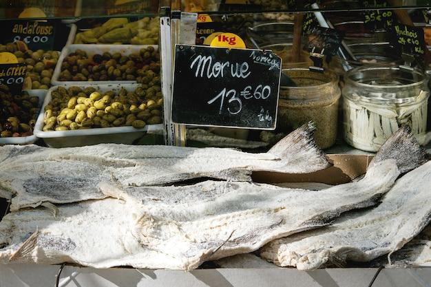 Parisian farmers market