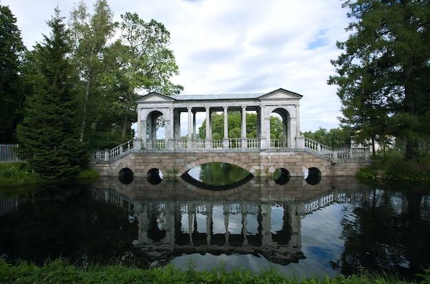 Парк в царском селе. санкт-петербург