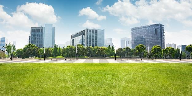 Lujiazui 금융 센터, 상하이, 중국에있는 공원