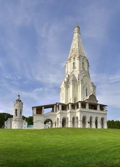 Парк коломенское вознесенский храм памятник юнеско русское каменное зодчество xvi века