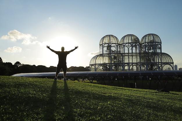 브라질 파라나 쿠리티바의 공원 관심 지점
