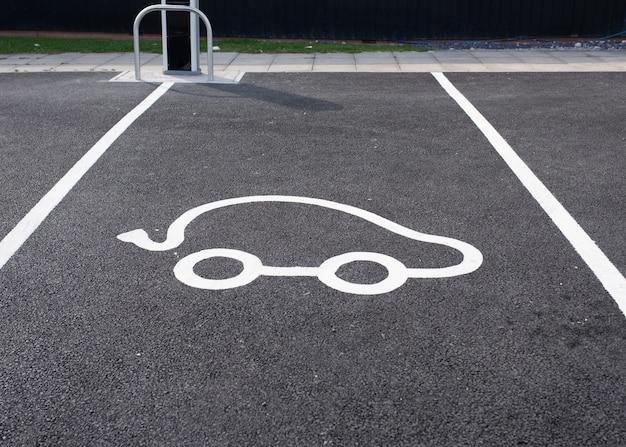 전기 자동차 주차