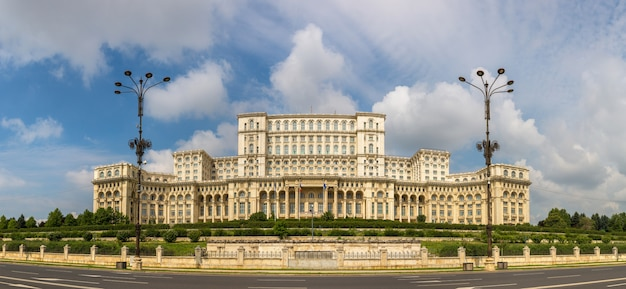 Parliament in bucharest, romania