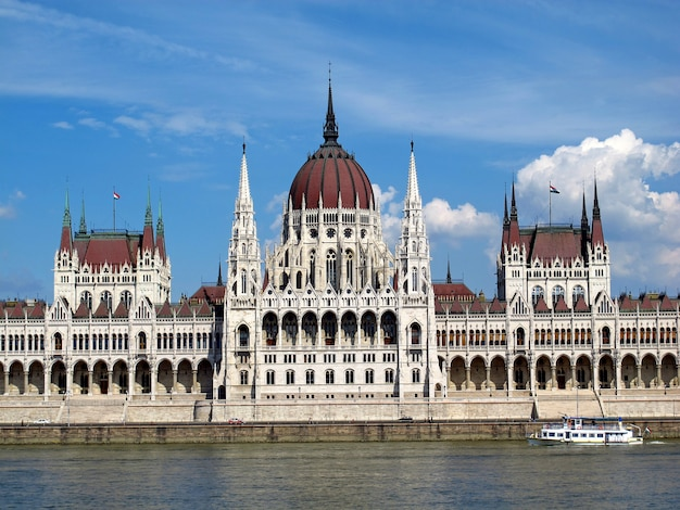The parliament in budapest, hungary