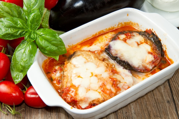 Parmiglianaナスの鍋
