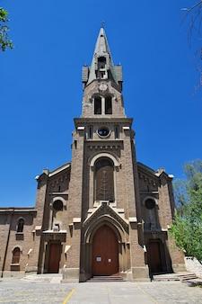 Parroquia santo cristo de la salud, церковь в лос-андес, чили