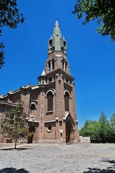 Церковь parroquia santo cristo de la salud в лос-андах в чили