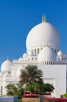 Part of famous sheikh zayed grand mosque, uae