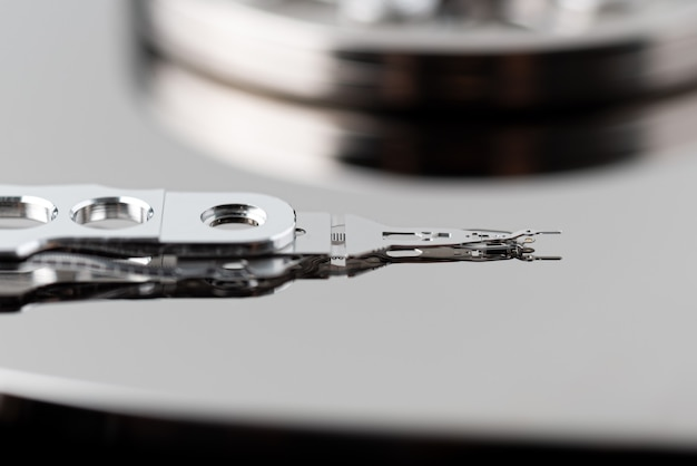 Part of hard disk