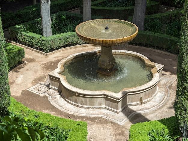 그라나다의 알람브라 궁전의 일부
