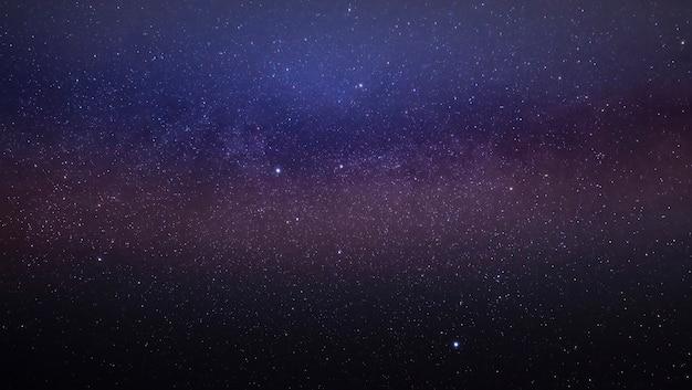 夜空の天の川銀河の一部